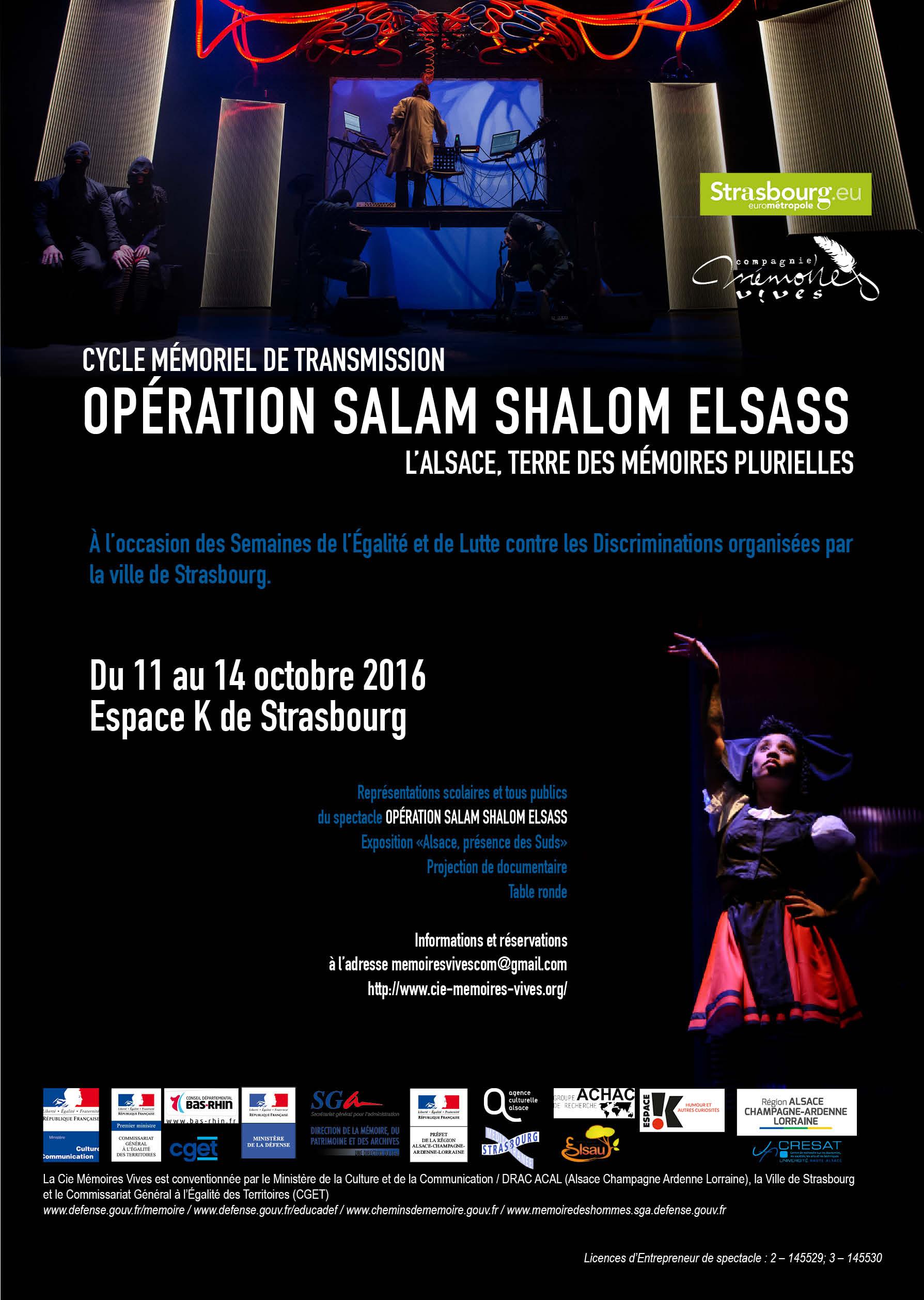 affiche OPÉRATION SALAM SHALOM