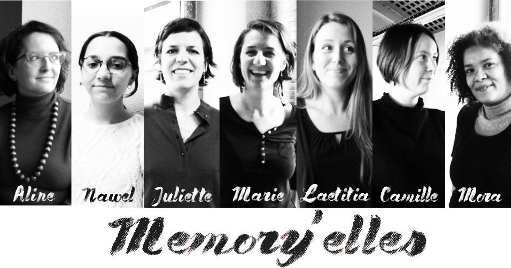 Portraits memoryelle mémoires vives