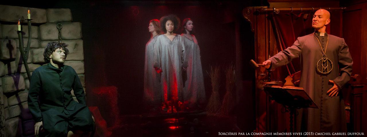 """SORCIÈRES (séance scolaire) - Cycle Mémoriel de Transmission """"Femmes(s) et Résistance(s)"""" @ Le Théâtre de la Choucrouterie"""