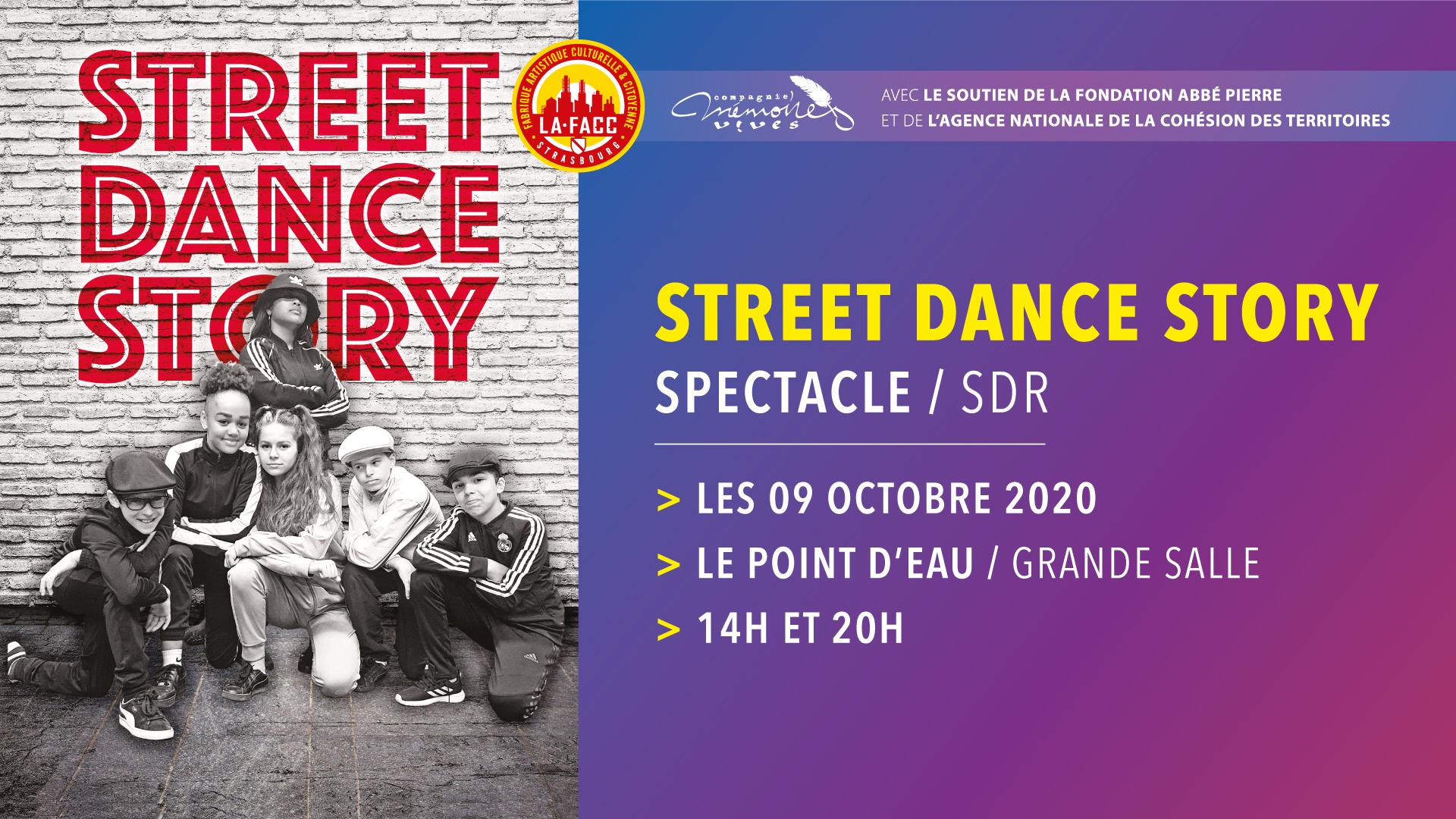 Festival O.Q.P 2020 • Street Dance Story @ Le Point d'Eau