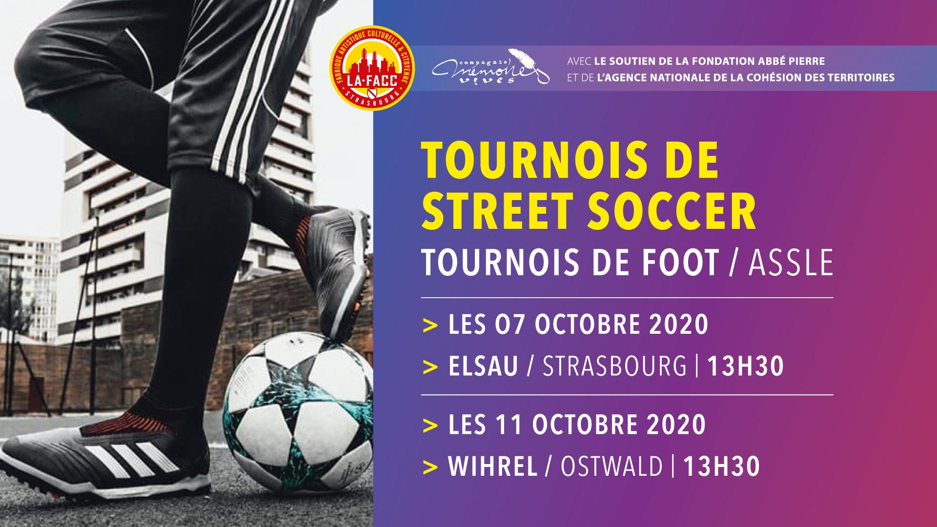 FESTIVAL O.Q.P 2020 • Tournois de Street Soccer @ City stade de l'Elsau