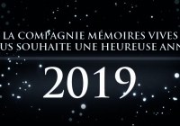 Heureuse année 2019