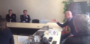 Rencontre entre Gilles Clavreul et Yan Gilg au Contact Club de Marseille