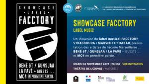 SHOWCASE FACCTORY @ Théâtre de l'Oeuvre
